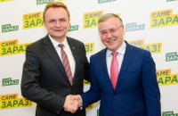 Гриценко і Садовий підписали угоду про вибори