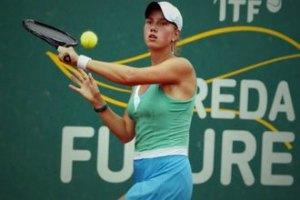 Украинская теннисистка обыграла россиянку в Москве