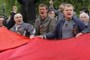 Комуністи вийшли на Першотравень у Львові