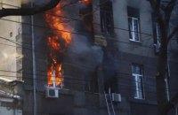 Поліція встановила двох підозрюваних у справі про пожежу в одеському коледжі