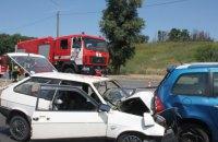 Два человека погибли, четверо пострадали в ДТП в Запорожье