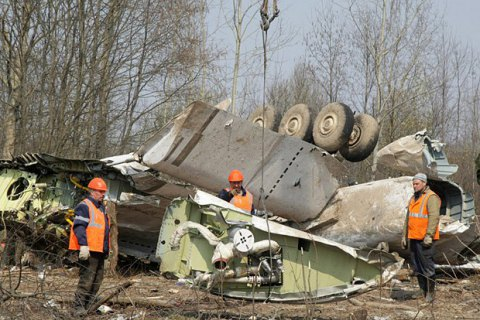 ПАСЕ потребовала от России вернуть Польше обломки самолета Качиньского