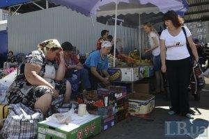 Лукьяновский рынок вернулся к нормальной работе