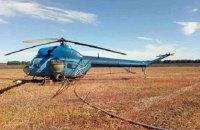 В Винницкой области во время полевых работ агроном попал под винт вертолета