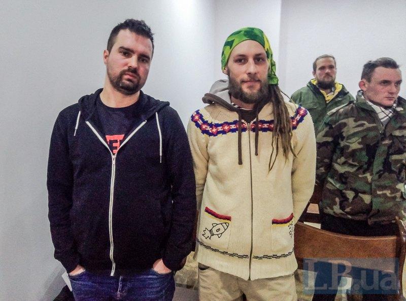 Потерпілі Олександр Козаченко і Євген Гарагуля