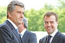 Ющенко встретится с Медведевым в Кишиневе 8-9 октября