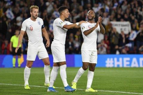 Косовари забили три голи збірній Англії в матчі відбору Євро-2020