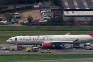 Лондонский аэропорт закрыли из-за аварийной посадки самолета