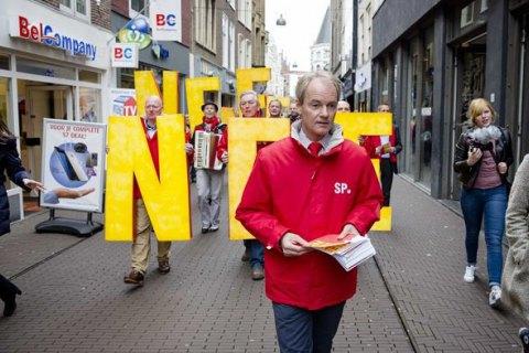 Голландский депутат агитировал против СА Украина-ЕС с помощью псевдоукраинской команды, - NYT