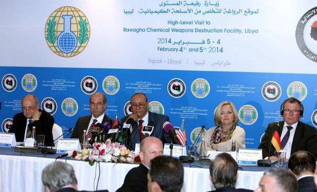 конференция, посвященная ликвидации ливийского химоружия