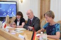Послы Франции и Германии встретились с Даниловым после его слов о моральной ответственности за российскую оккупацию