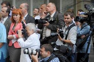 Журналистов опять не пустили к Тимошенко