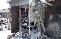 На киевском радиорынке взорвался киоск