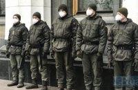 В Киеве Нацгвардия взяла под охрану инфекционное отделение больницы, где находятся пациенты с подозрением на COVID-19