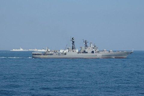 """Росія і Китай 18-26 вересня проведуть військові навчання """"Морська взаємодія - 2017"""""""
