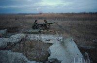 Один военный ранен с начала суток на Донбассе