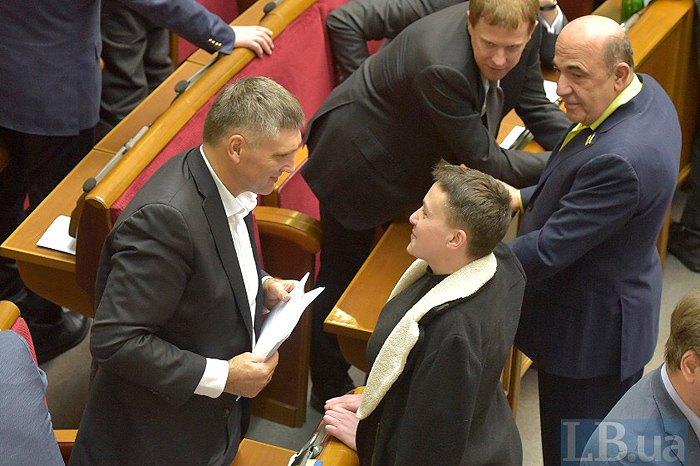 Останнє засідання Савченко в парламенті