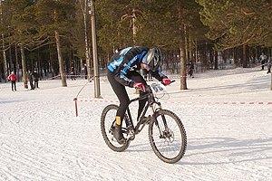 В Одессе проходят зимние соревнования по велоспорту