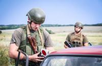 """На Донбасі військові затримали 4 підозрюваних у співпраці з """"ДНР"""""""