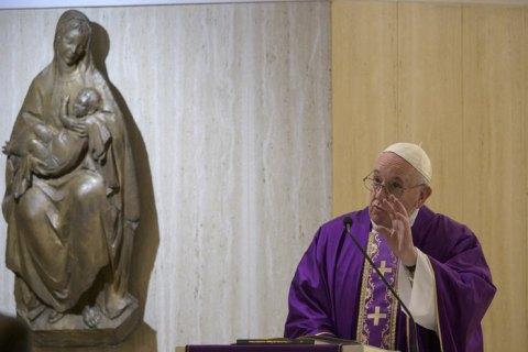 Папа Франциск закликав ухвалити закони про цивільні партнерства для одностатевих пар