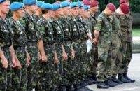 Украинские десантники уехали в Литву
