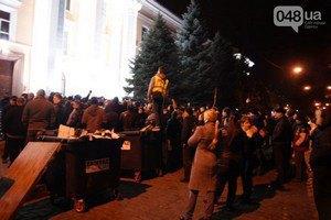 В Одессе сепаратисты всю ночь блокировали УСБУ (Обновлено)