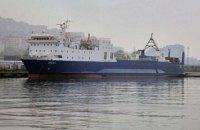 Одеський суд заочно арештував пароплав за постачання товарів із Туреччини у Крим