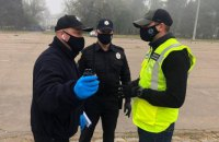 Поліція склала адмінпротоколи на трьох порушників порядку на Куликовому полі в Одесі