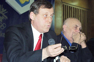 Генсек НОК Украины отстранен от должности
