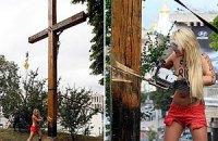 Лидера Femen допросила милиция