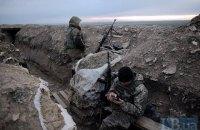 Боевики на Донбассе 10 раз обстреляли позиции укранских военных с начала суток
