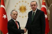 Ердоган попросив у Джемілєва список українських в'язнів Кремля