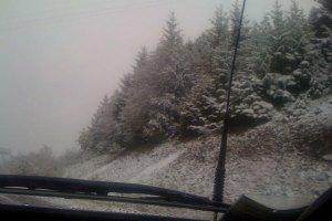 На Закарпатье предупредили о сильных морозах и лавинах