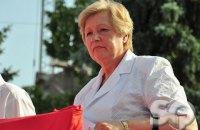 СБУ затримала комуністку Александровську за підкуп місцевих депутатів (оновлено)