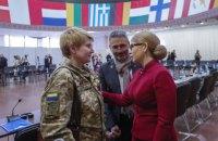 Тимошенко: Україна зберегла суверенітет у 2014 році завдяки добровольцям.