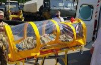 Військові медики отримали капсулу для транспортування людей з інфекційними хворобами