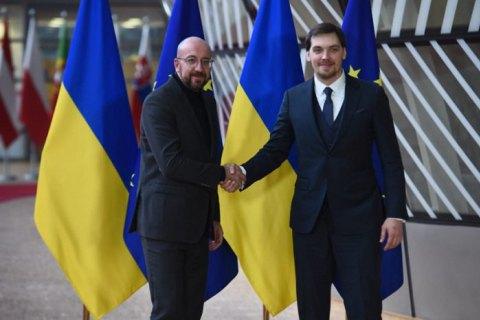 Гончарук подякував голові Європейської Ради за розширення санкцій щодо Криму