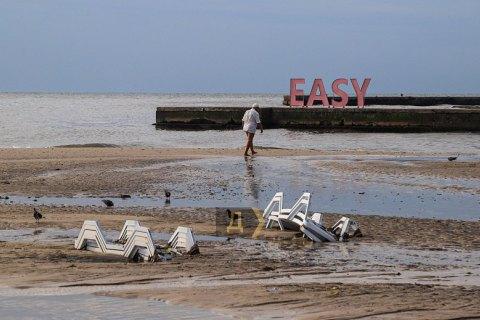 Після зливи в Одесі рекомендують не купатися у морі