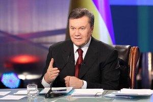 """Янукович с четвертого раза смог правильно назвать завод """"Турбоатом"""""""