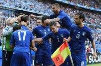 Італія позбавила іспанців можливості стати чемпіонами Європи вдев'яте