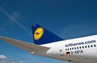 В аеропорту Мінська затримали виліт літака Lufthansa через повідомлення про мінування