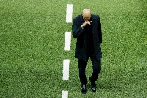 Зидан находится лишь в одном матче от увольнения, - СМИ