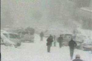 Под Одессой в пробке замерзают люди