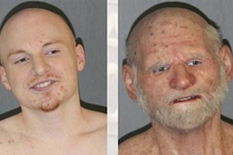 В США 31-летний наркоторговец скрывался от полиции, гримируясь под старика