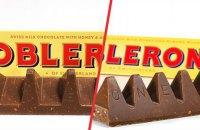 Шоколаду Toblerone для Британії повернуть старий дизайн через невдоволення покупців