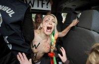 Милиция снова задержала активисток Femen