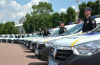 В Хмельницкой области начали работать группы реагирования патрульной полиции