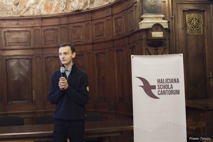 Іван Духнич - організатор і керівник проекту Haliciana Schola Cantorum