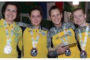 Українки посіли третє місце на чемпіонаті Європи з фехтування
