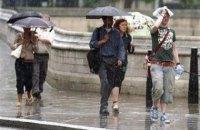 В понедельник в Киеве обещают небольшой дождь